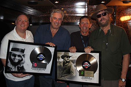 Kirt Webster, Ken Levitan, Greg Oswald, Hank Williams Jr.