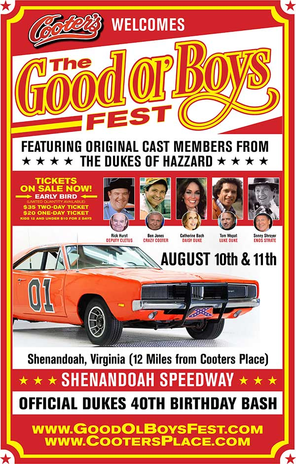 Good Ol' Boys Fest - On Sale Now!