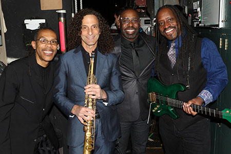 Kenny G with Earth, Wind & Fire