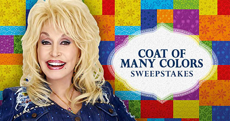 Dolly Parton's Coat of Many Colors Sweepstakes