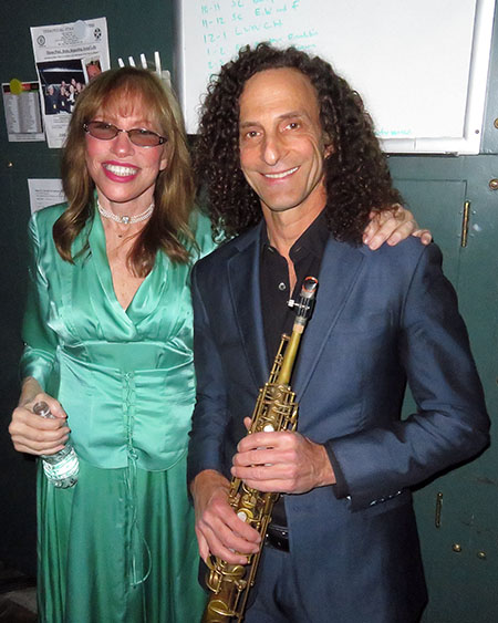 Kenny G & Carly Simon