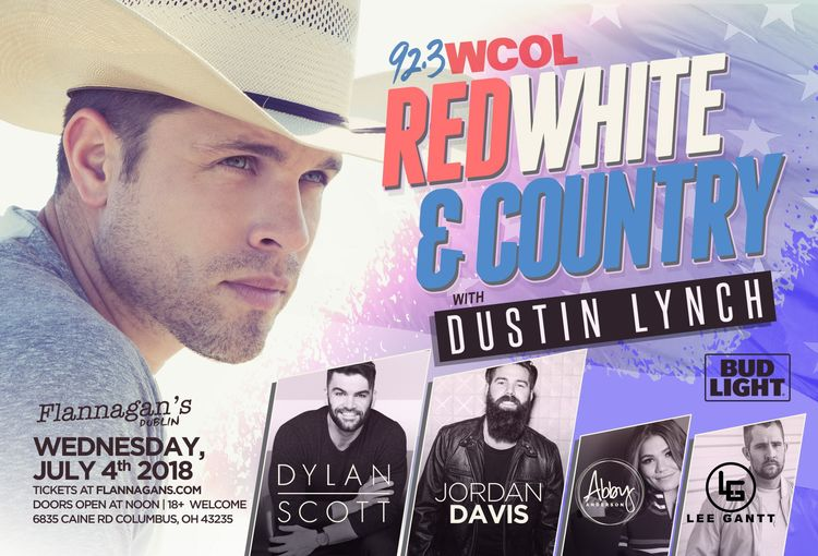 WCOL Red, White & Country