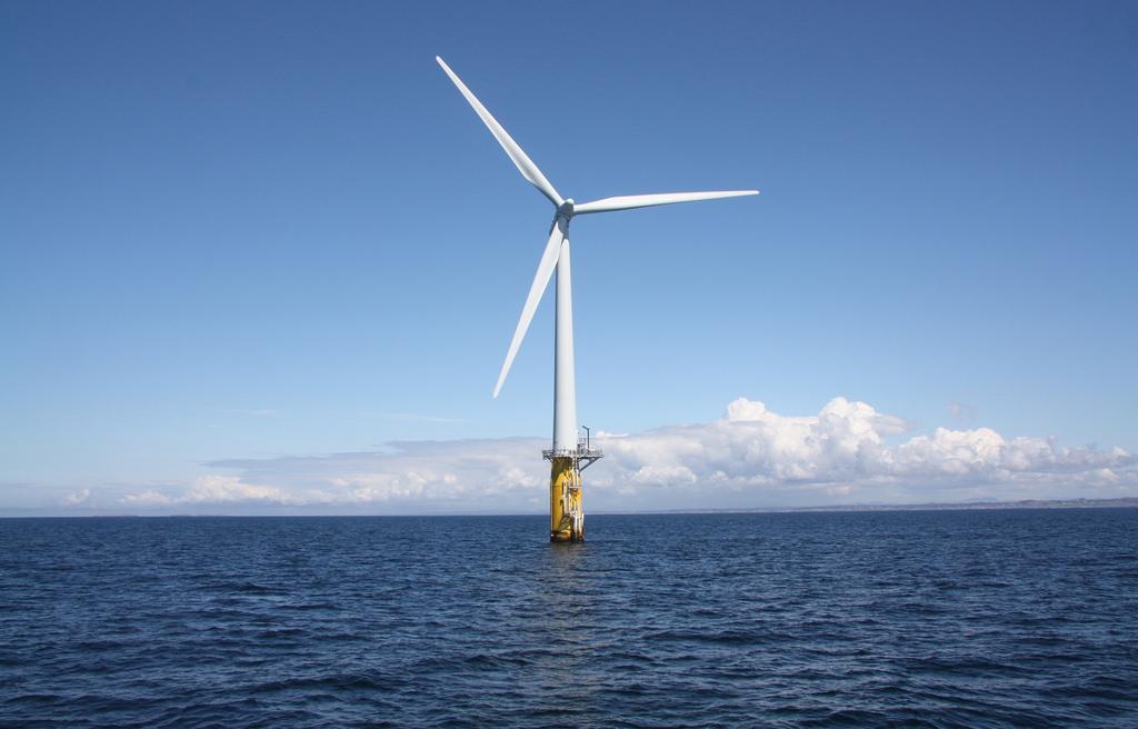 Off shore wind turbine