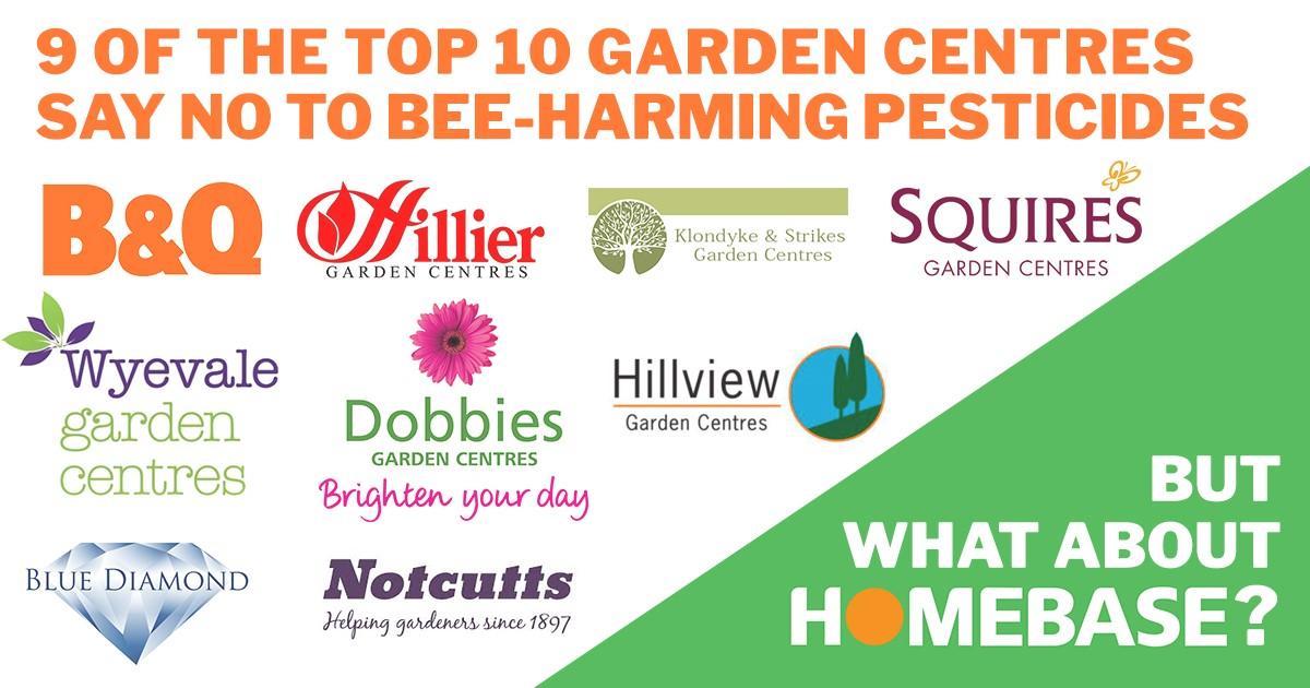 Garden centres and pesticides