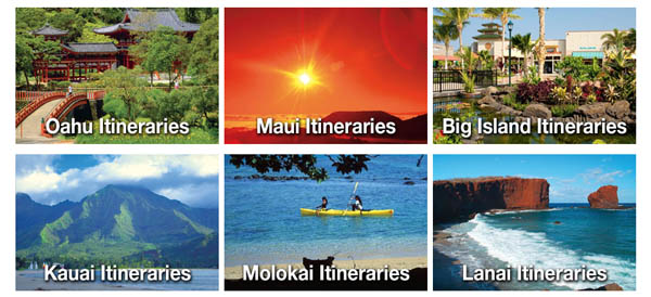 Hawaii Vacation Itineraries
