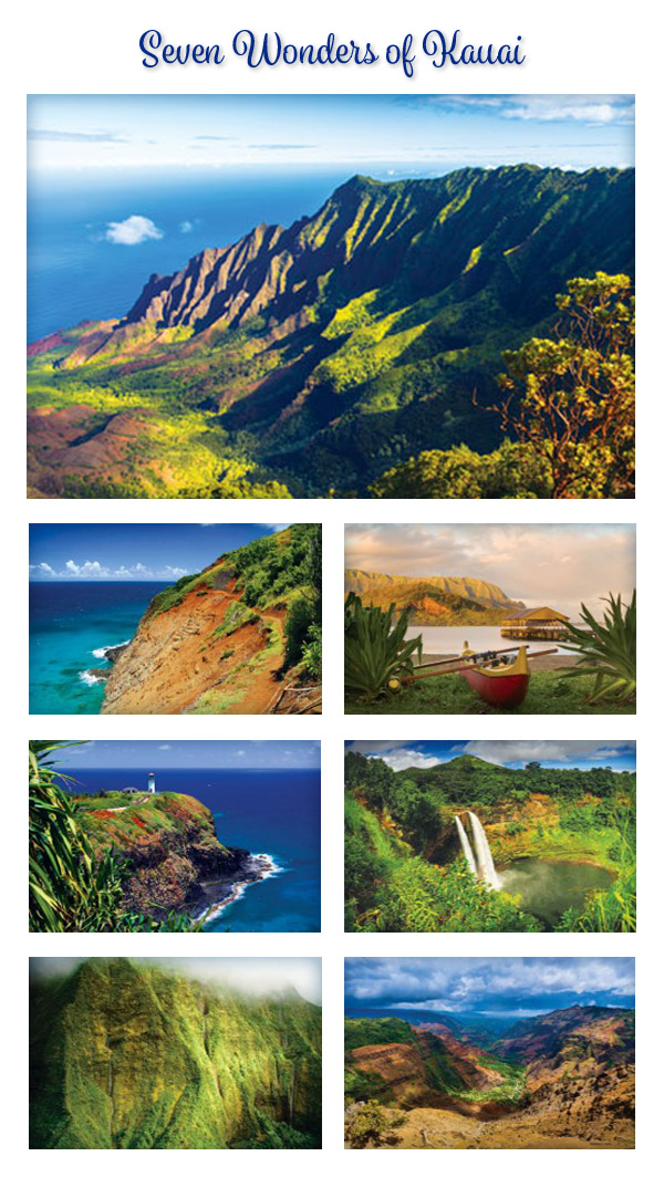 Seven Wonders of Kauai