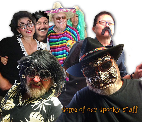 Some of our Spooky Staff