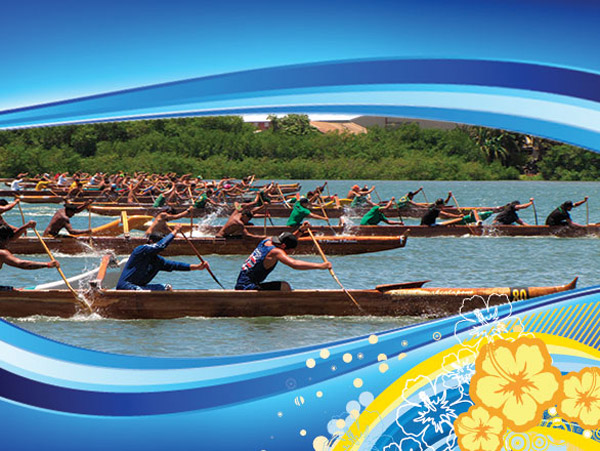 Outrigger Canoe Racing