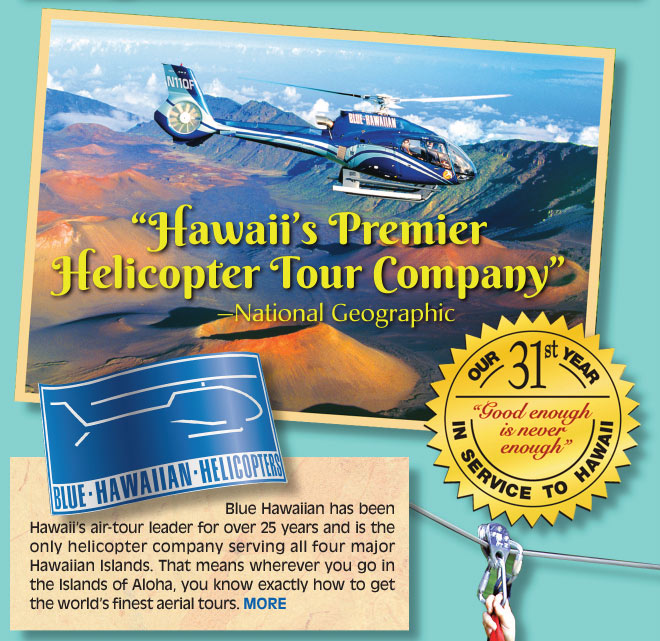 Hawaii's Premier Helicopter Tour Company