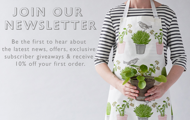 Sign up to the Thornback & Peel newsletter. Be the first to hear about  the latest news, offers, exclusive  subscriber giveaways & receive  10% off your first order.