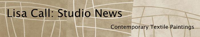 Lisa Call: Studio News
