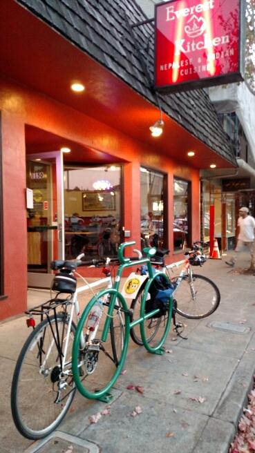 Bike-BikeRack at Everest Kitchen