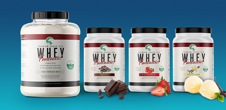FREE Sample of Whey Fantastic.