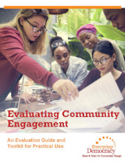 Evaluating community engagement