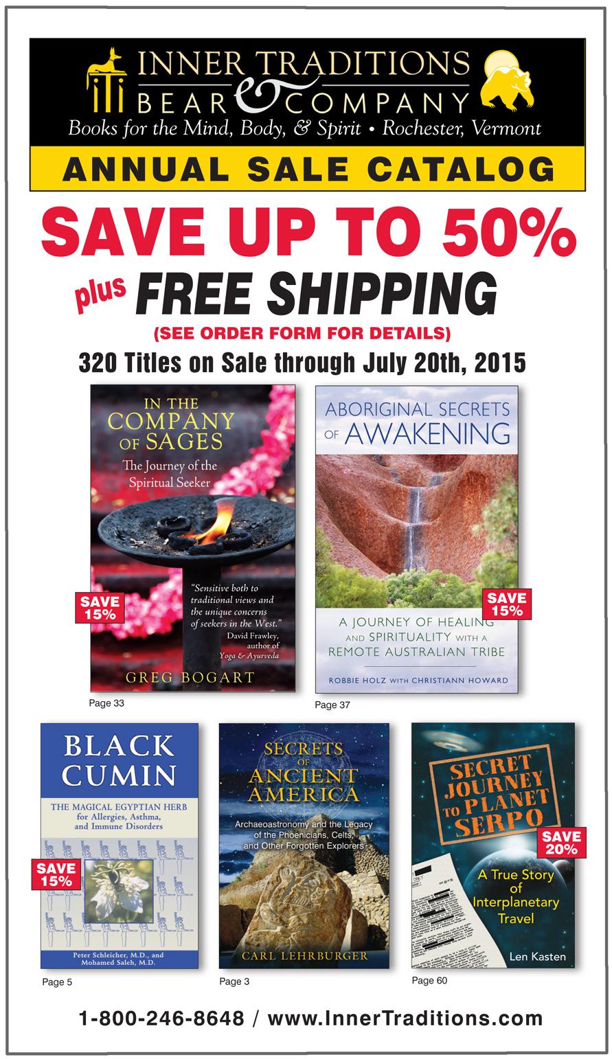 2015 Spring Sale Catalog
