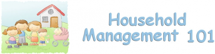 Household Management 101 Newsletter