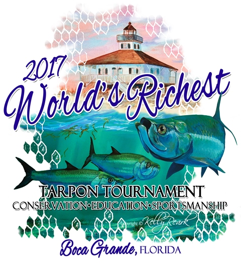 2017 Worlds Richest Tarpon Tournament Artwork