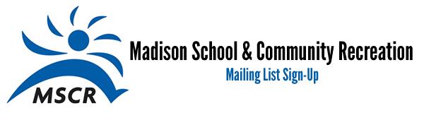 MSCR Mailing List Form