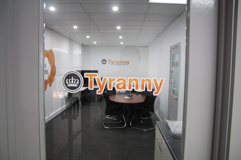 Our Office Tyranny Web Design and SEO