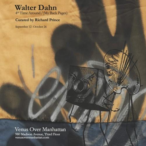 WALTER DAHN | 4TH TIME AROUND/ (MY BACK PAGES) VENUS OVER MANHATTAN.