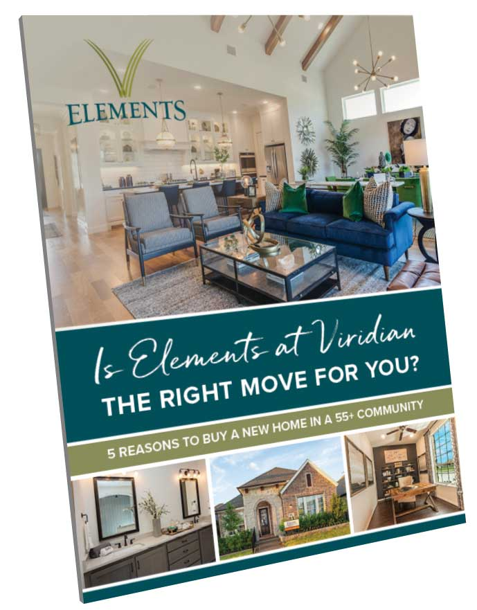 5 Reasons to Buy A New Home in a 55+ Community