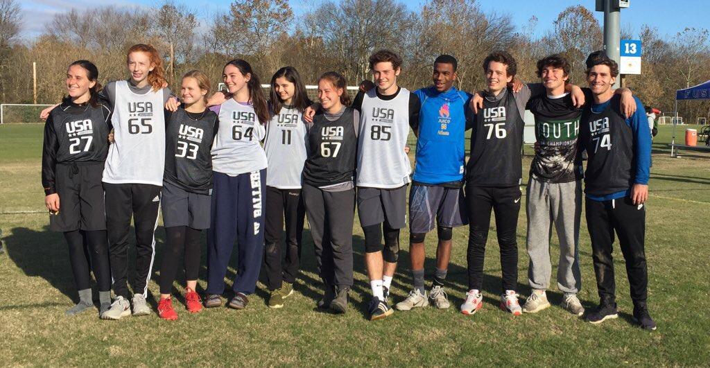 Atlanta WJUC U20 USAU Invitees