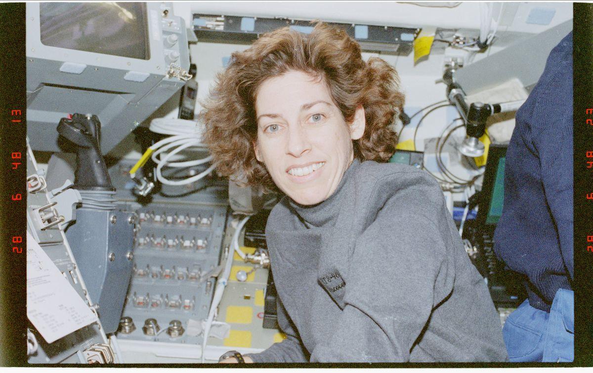 mission specialist Ellen Ochoa