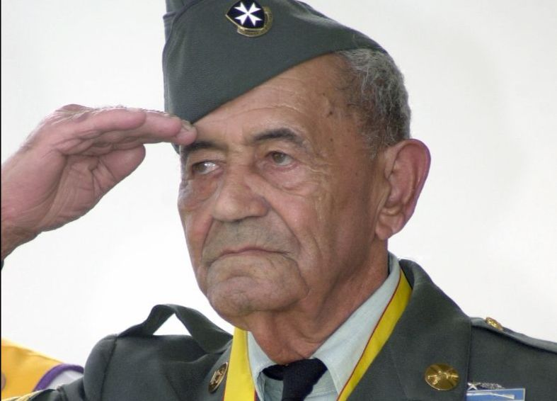 Korean war veteran, Sergeant First Class (Ret) Modesto Cartagena