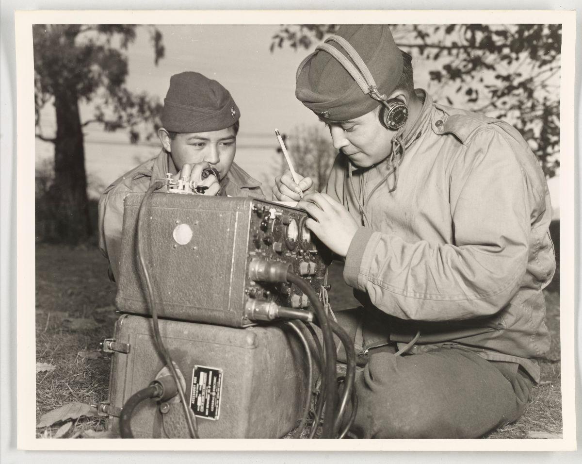 Records of the U.S. Marine Corps. World War II – Navajo Indians