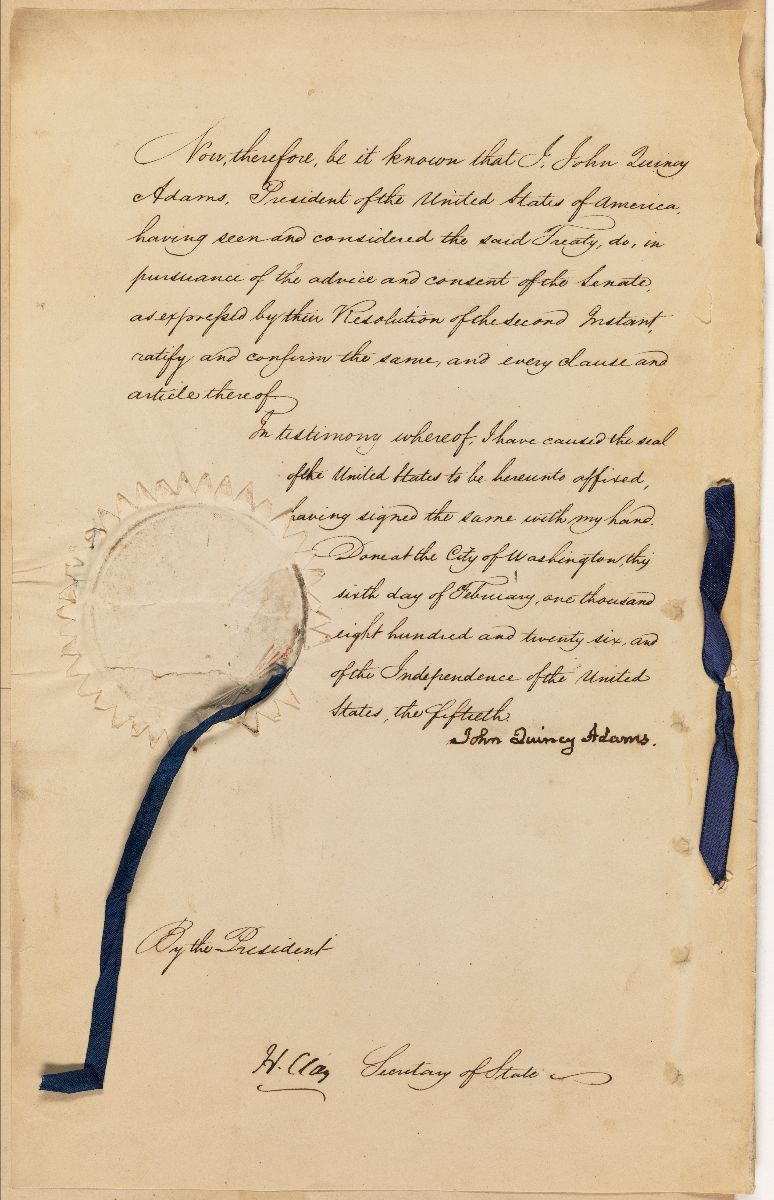 Ratified Indian Treaty 133: Arikara (Ricara) – Arikara Village