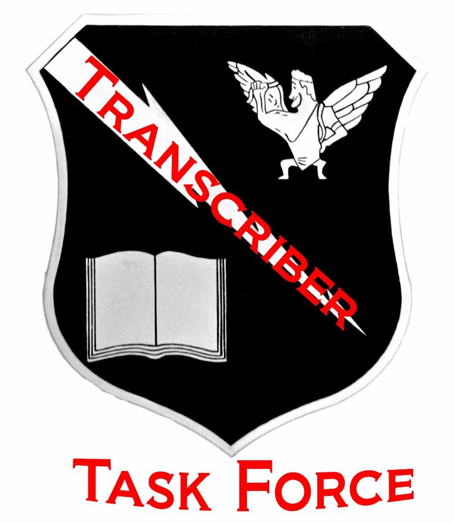Transcriber Task Force