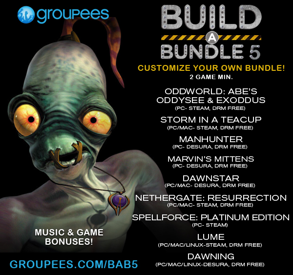 Build a Bundle 5- customize your own bundle!