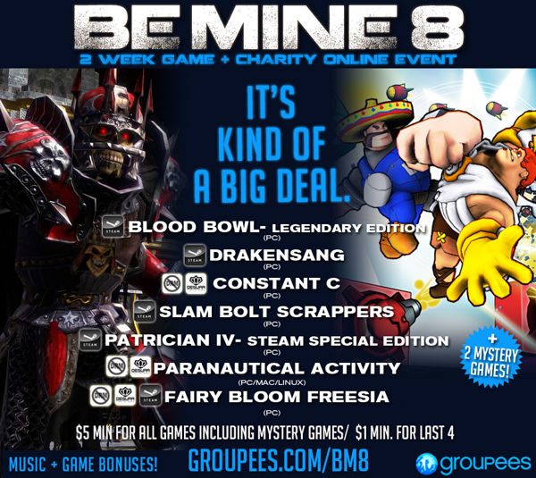 Be Mine 8 Game + Charity Bundle!