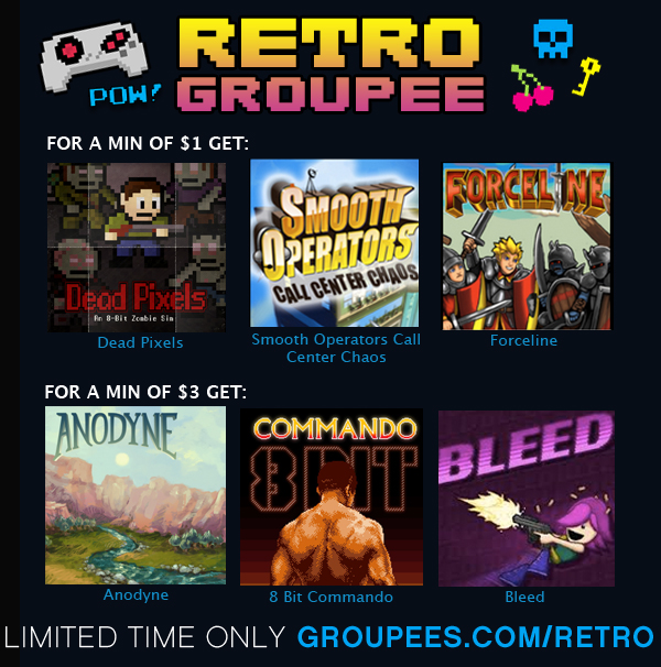 Retro Groupee is live!