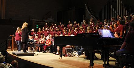 MC Homecoming Choir Performance