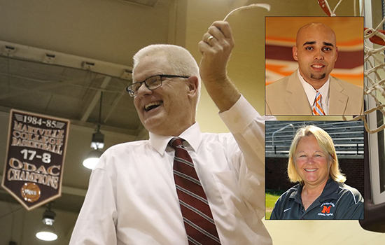 Photo collage of Randy Lambert, Raul Placeres and Sharon Wood