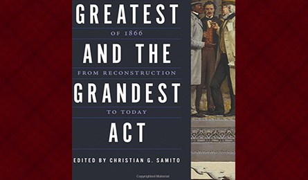 """""""The Greatest and the Grandest Act"""" book cover"""