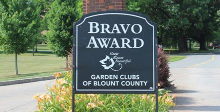 BRAVO! Award sign