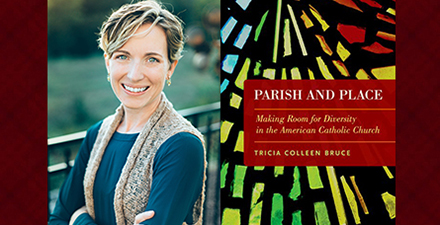Dr. Tricia Bruce and book cover