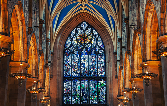 St. Giles Cathedral interior
