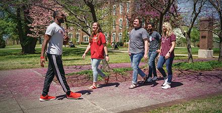 Campus tour photo