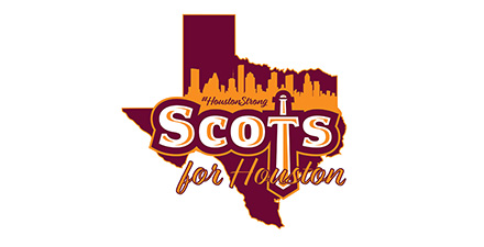 """Scots for Houston"" graphic"