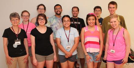 Horizons group photo