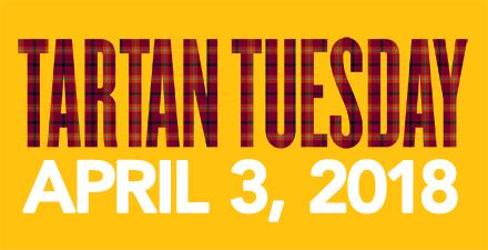Tartan Tuesday graphic