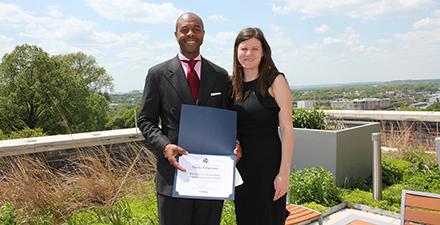 Ridgeway receives THEC award