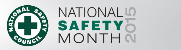 National Safety Month 2015