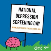 National Depression Screening Day October 9th