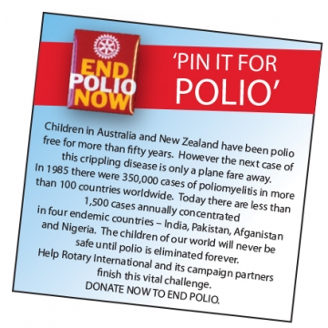 Pin it for Polio