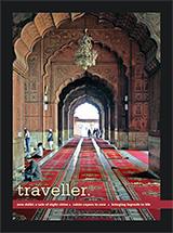Cover Traveller magazine August 2013