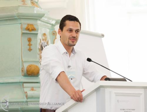Austrian Fulbright-Botstiber Professor Ferid Hafez, courtesy of Global Citizenship Alliance